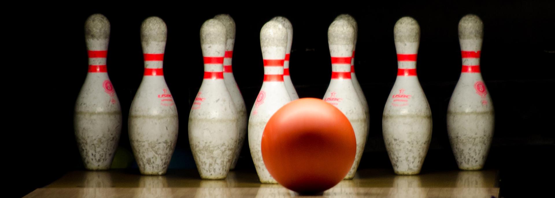 Illustration d'une partie de bowling
