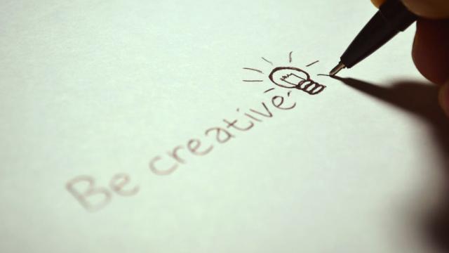 Illustration de la créativité