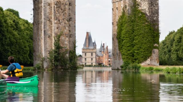 Activité canoë-kayak entre Chartres et Maintenon