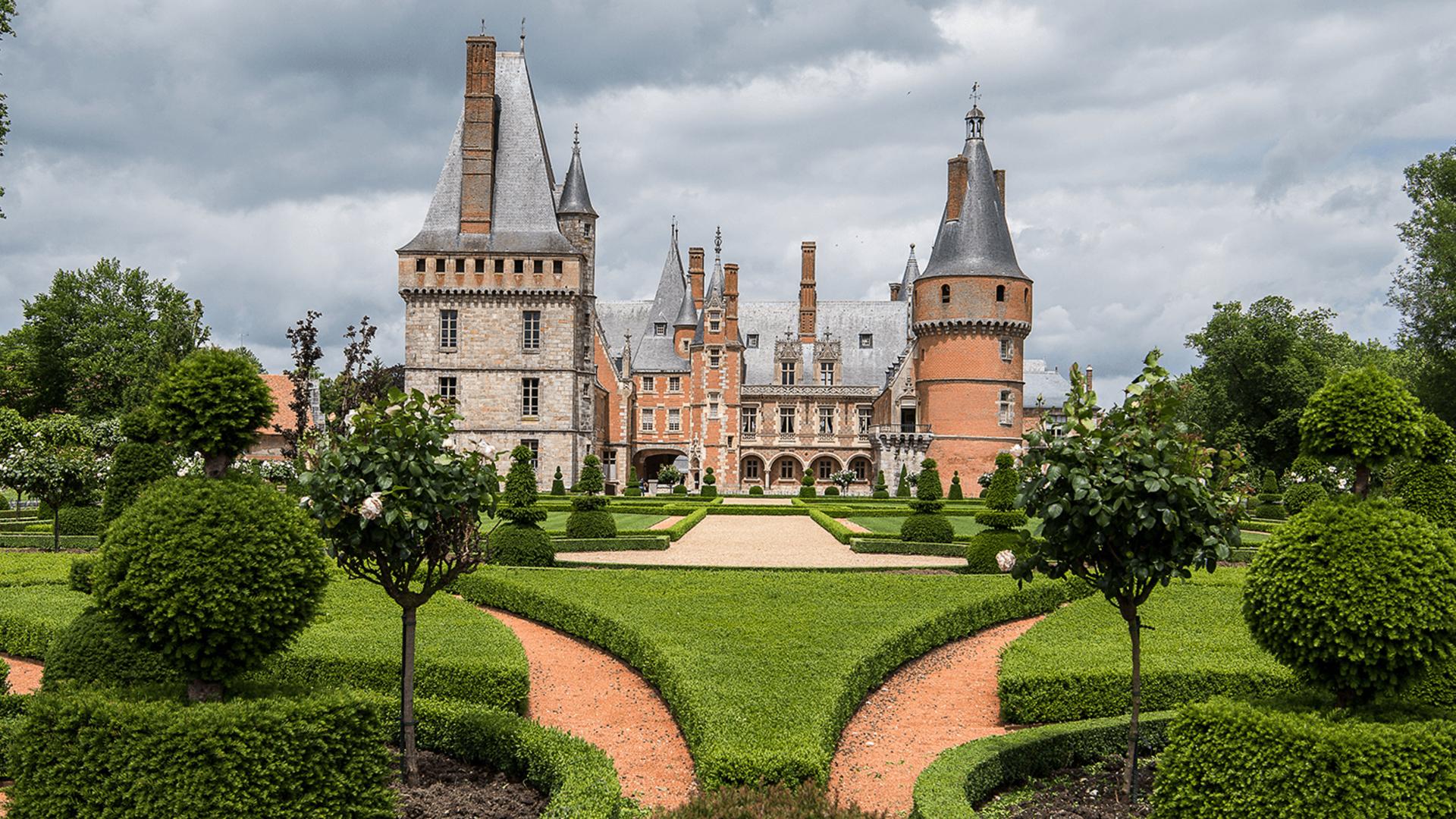 Château de Maintenon depuis les jardins