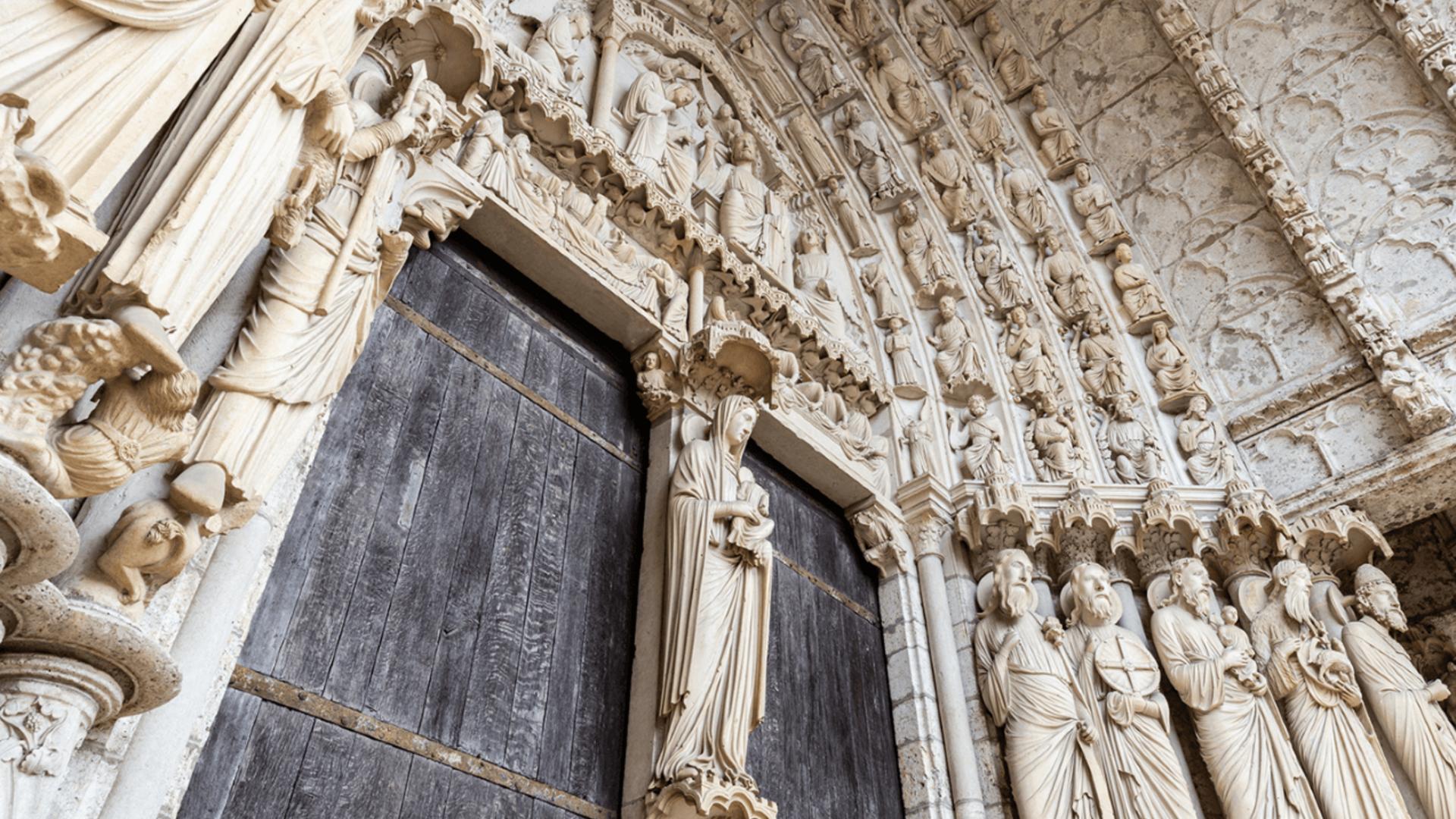 Portail de la cathédrale de Chartres