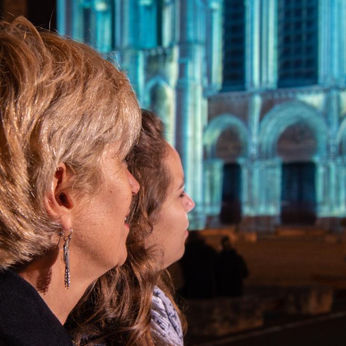 Chartres en lumières 2019 - © Groupement Martino