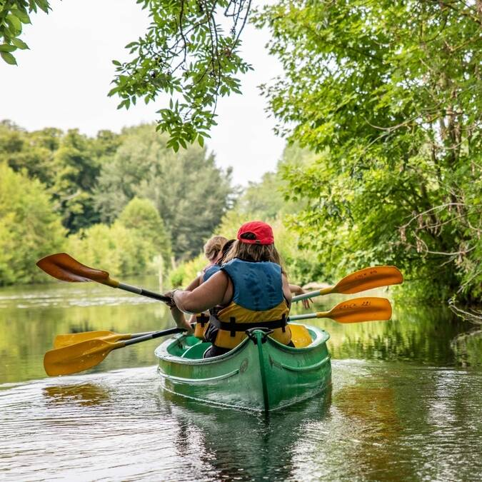 Balade en canoe kayak - © C'Chartres Tourisme - Studio Martino